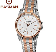 EASMan Men Rose Gold Watch Brand Men Casual Roma Steel Style Quartz Watches For Men Wristwatches