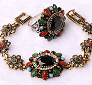 Z&X® Alloy Western Style High End Elegant Jewelry Set Party/Casual 1set