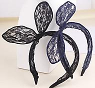 Z&X® Fabric Fashion Cute Rabbit Ear Headbands Party/Casual 1pc
