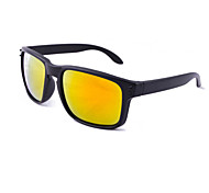 Sunglasses Men / Women / Unisex's Sports / Fashion Hiking Black / White Sunglasses Full-Rim