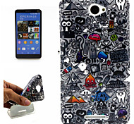 Character Pattern Following Fashion Mobile Phone Holster for SONY Xperia E4