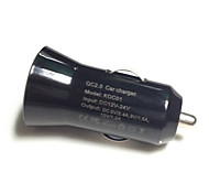 QC2.0 Car Charger for Samsung S6 for Xiaomi Mi4 Qualcomm Quick Charge 2.0 smart Car Chager for iPhone C001