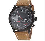 Men's Round Cross Manual Machine Band  Wrist Watch(More Color)
