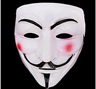 nuovo film v faida maschera costume bianco fawkes anonimo Halloween Cosplay