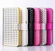 Fashion Purse Holster Cam Rivet Mobile phone for iphone 6