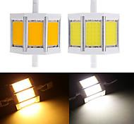 1 pcs Ding Yao R7S 10W 3 COB 650-750LM Warm White/Cool White A Corn Bulbs AC 85-265V
