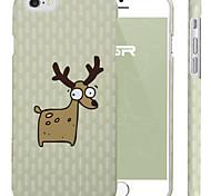 ESR® Illustrators Series Cute Cartoon Comic Mate Elk Hard Back Cover for iPhone 6 (Comic Mate Elk)