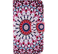 Purple Diamond Pattern PU Leather TPU Full Body Case with Card Holder for Samsung Galaxy Core Prime G360