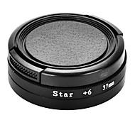 37mm 6 line Star Filter Star Light Flare Cross Filter for Xiaomi Yi