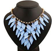 Fashion Jewelry Crystal Metal Statement Necklaces