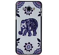 Elephant Pattern PC Hard Case For Galaxy A8