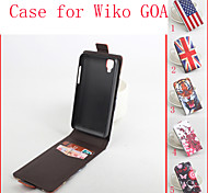 Flip Leather Magnetic Protective Case For Wiko GOA(Assorted Colors)