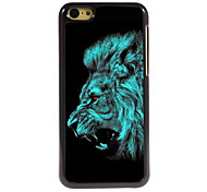 Lion Design Aluminum High Quality Case for iPhone 5C