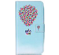 Balloon Pattern PU Leather Phone Case For Nokia N640