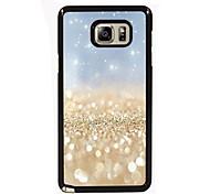 gouden zand ontwerp slanke metalen achterkant van de behuizing voor Samsung Galaxy Note 3 / noot 4 / note 5 / note 5 rand