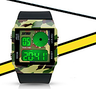 Boy and Girl's Waterproof Luminous Multi-function Electronic Watch Student Sports Outdoor Couple Watch (more colors)