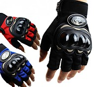Racing Motorcycle/Motocross/Racing Gloves Short Finger Drop Resistance Summer for Women And Men  M/L/XL Red/Black/Blue