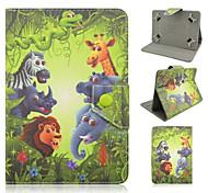 elefante universale dipinto pu staffa custodia per 7 pollici e 10 pollici