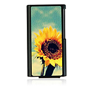 Sunflower Leather Vein Pattern Hard Case for iPod Nano 7
