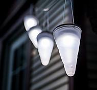 Solar weißen Garten im Freien hängenden Baum Kornett Kegel LED-Leuchten
