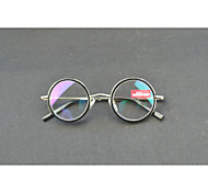 [Free Lenses]  Unisex 's Round Full-Rim Reading Glasses