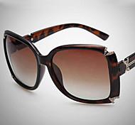 Sunglasses Women's Elegant / Modern / Fashion / Polarized Square Black / Brown / Blue / Multi-Color Sunglasses Full-Rim