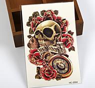 Tatuaggi adesivi - Serie totem / Altro - Brand New - Da donna / Da uomo / Adulto / Teen - 1 - Modello - di Carta - 12cm(W)*19cm(L) - Nero