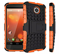 Mix Color TPU&PC Heavy Duty Armor Stand Case for Motorola MOTO X+1(Assorted Colors)