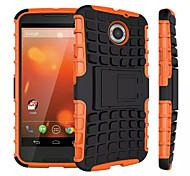 mix Farbe TPU&pc schwere Rüstung Standplatzfall für Motorola Moto x + 1 (verschiedene Farben)