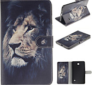 The Lion Design PU Leather with Stand Case forSamsung Galaxy Tab 3 Lite T110 T114/Tab 4 7.0 T230/Tab 3 8.0 T310 T311