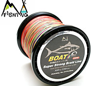 300M / 330 Yards PE Braided Line / Dyneema / Superline Fishing Line rainbow trout 60LB 0.36 mm ForSea Fishing / Freshwater Fishing /