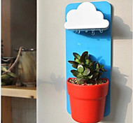 Clouds Flowerpot Wall-Mounted Rainy Pot Potted Succulents Office Radiation Protection