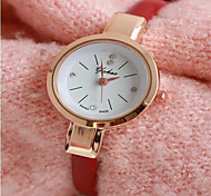 Woman Fashion Leather Quartz Wrist Watch Cool Watches Unique Watches