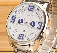Watch Men Relogio Masculino Strip Three O'Clock Zone Calendar Mountaineering Sports Watches