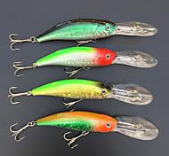 4 pcs Harte Fischköder / Angelköder Harte Fischköder / kleiner Fisch Phantom 15 g Unze mm Zoll,Metall / Fester KunststoffSeefischerei /