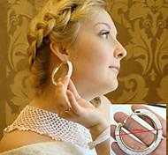 Earring Star Hoop Earrings Jewelry Women Party / Daily / Casual Alloy 2pcs Gold