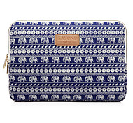 Elephant Stripe Prints Laptop Cover Sleeves Shakeproof Case for SAMSUNG Tab or iPad 2/3/4 or Surface