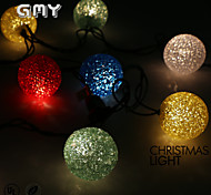GMY Christmas Light EVA Ball String Light