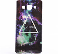 Triangle Star Pattern TPU Soft Phone Case for Galaxy A3/A5
