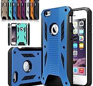 neue 2 in 1 TPU + Hartplastik quakeproof Fall Telefon zurück schützende Hülle für das iPhone 6 plus / 6s zuzüglich 5,5 Zoll decken