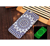 New Embossed Feel Black Fluorescence Mobile Phone Cases Back Cover for iPhone 6 4.7 inch