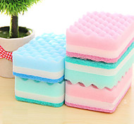 Antibacterial Dishwashing Kitchen Sponge Brush Cleaning Brush & Cloth