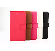 5.5 Inch High Quality PU Wallet Leather Case for iPhone 6S Plus(Assorted Colors)