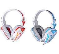 HIFI With Microphone Gaming Wired Headphones  Volume Control Glare Earphones  Noise Cancelling Bass Surround Earphones