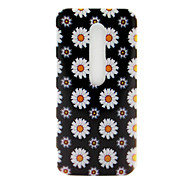 Daisy Pattern TPU Soft Cover Case for Motorola MOTO G3 3rd Gen