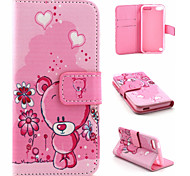 Cartoon The Wallet Stents Mobile phone Case for iTouch 5