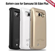 4200mAh External Portable Backup Battery Case for  Samsung Galaxy S6 edge plus (Assorted Colors)