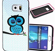 For Samsung Galaxy Case Pattern Case Back Cover Case Owl TPU Samsung S6 edge plus