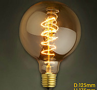 40W E27 Retro Industry Style Transparent Incandescent Bulb