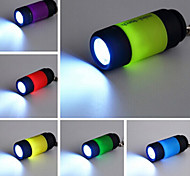 Mini Keychain Pocket Torch USB Rechargeable LED Night Light Flashlight(Random Color)